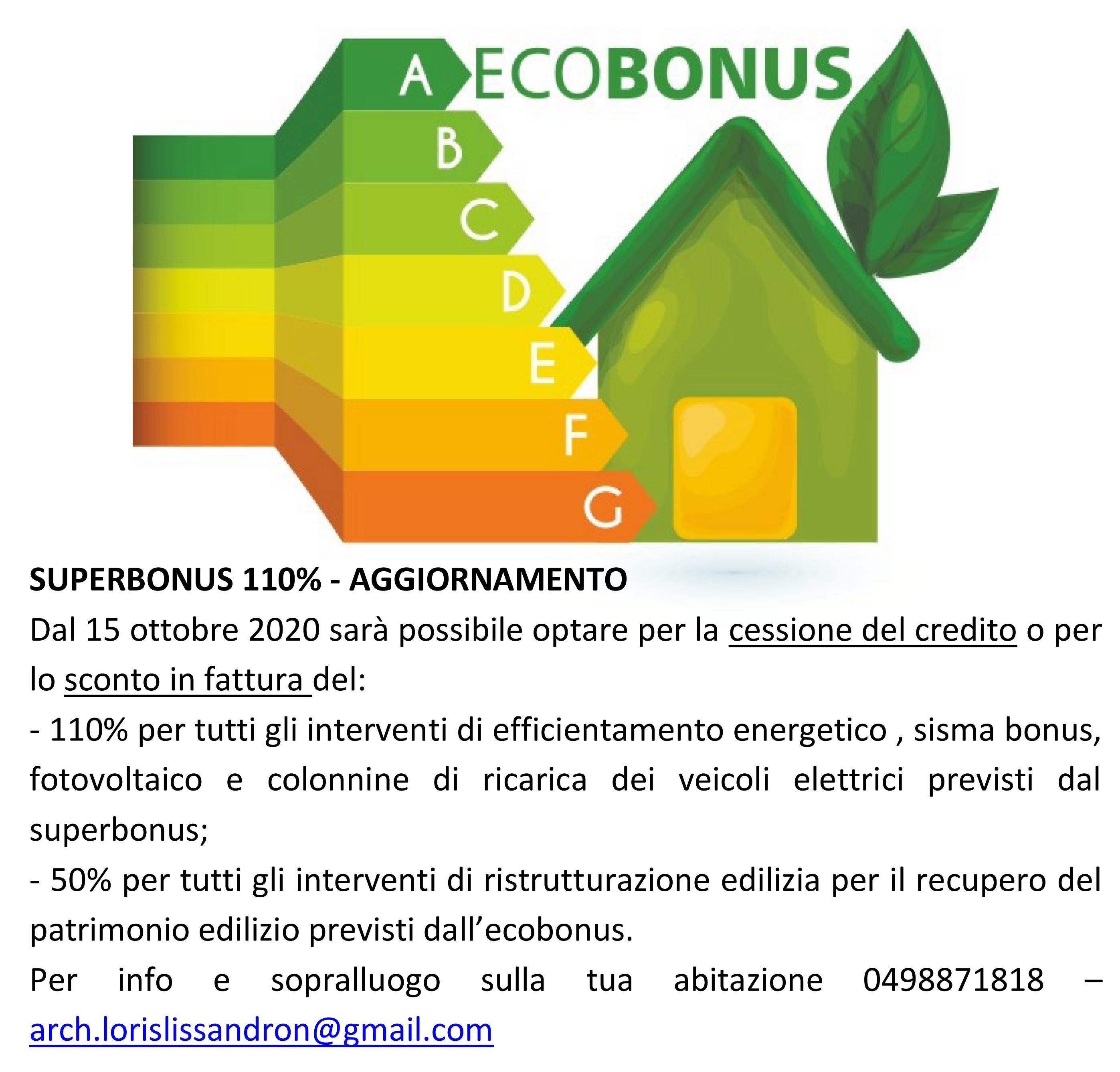Decreto Rilancio – Ecobonus 110%